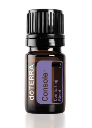 Console aromatherapy essential oil blend