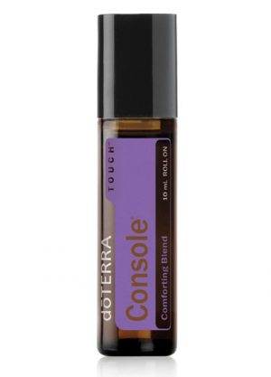 Console roll-on aromatherapy essential oil blend