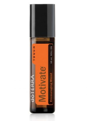 Motivate roll-on essential oil blend